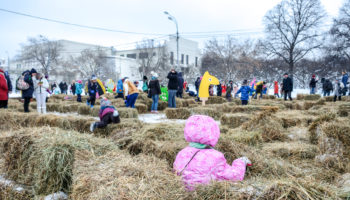 February 18th 2018 – Moscow, park Gorkij. Maslenitsa celebration